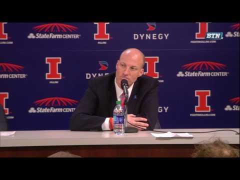 John Groce Post-Game Press Conference vs. Minnesota