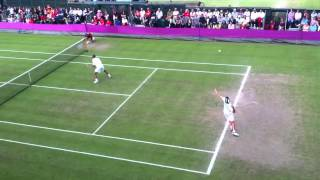 Israel beats Switzerland in tennis doubles (London2012 Wimb
