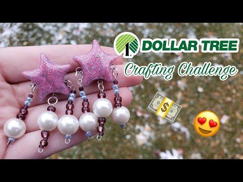 DOLLAR TREE CRAFTING CHALLENGE | The Clay Dork