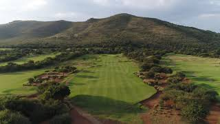 The 1st hole of The Lost City Golf Course at Sun City