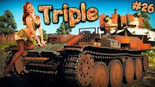 War Thunder #26 (Приколы, фейлы, баги) Triple