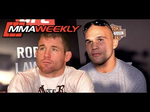 Emotional Robbie Lawler Talks Matt Hughes: 'Usually He's Here with Me'