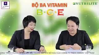 Bộ 3 Chống OXY Hóa C,E,B Nutrilite, Kiến Thức Sức khỏ chủ động.