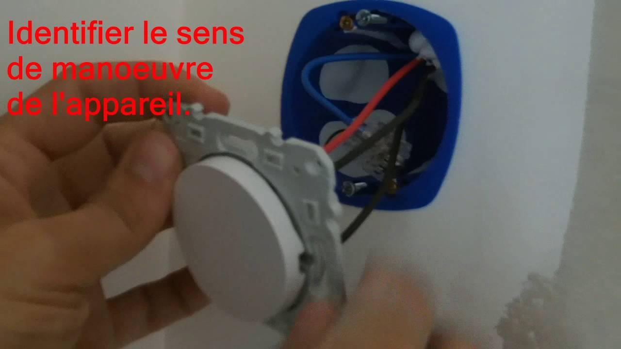 Raccorder Un Interrupteur Va Et Vient A Voyant Youtube