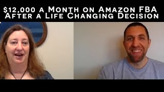 $12,000/Month on Amazon FBA After A Life Changing Decision to Join Resell Profits Academy