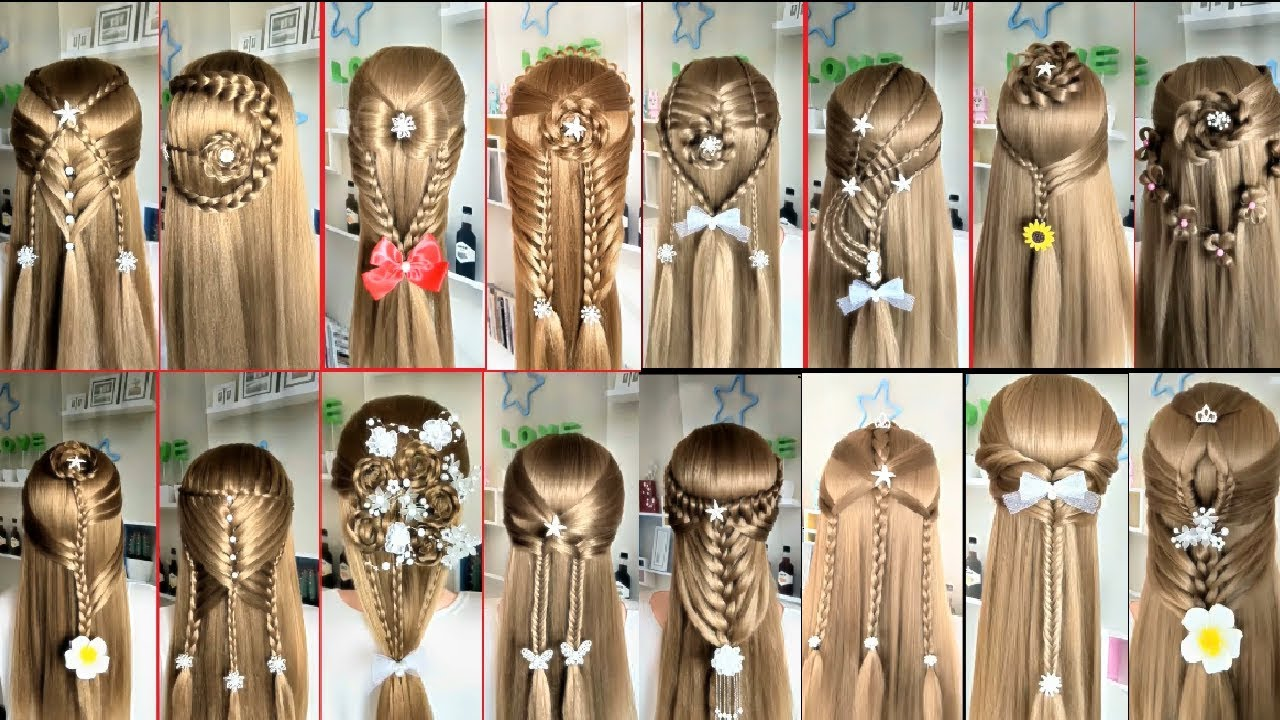 easy hairstyles long