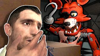 FNAF Animatronics are After Us in the Pizzeria!  Garry's Mod Gameplay