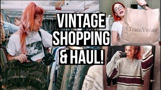 THRIFT STORE HAUL! - VINTAGE FALL SHOPPING