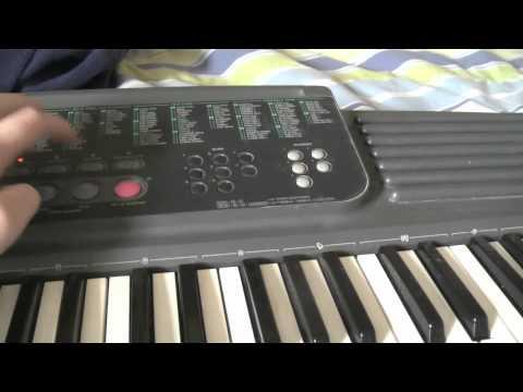 Casio CTK-500 Part 1