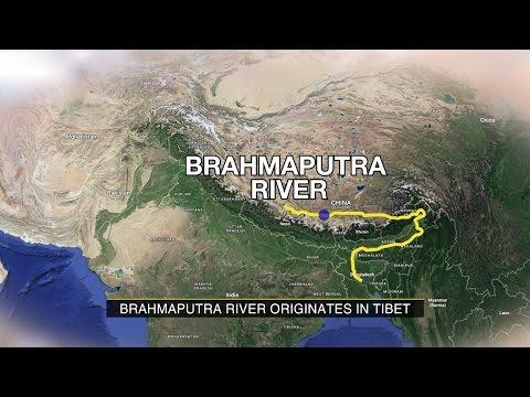 China blocks Brahmaputra tributary