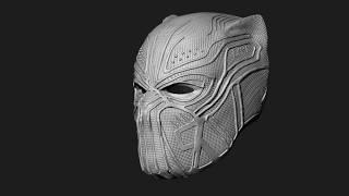 """Golden Jaguar """" Eric Killmonger """" Helmet / Mask"""