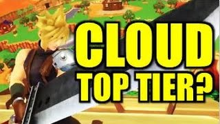 Cloud Competitive Breakdown & Prediction - Smash Wii U/3DS