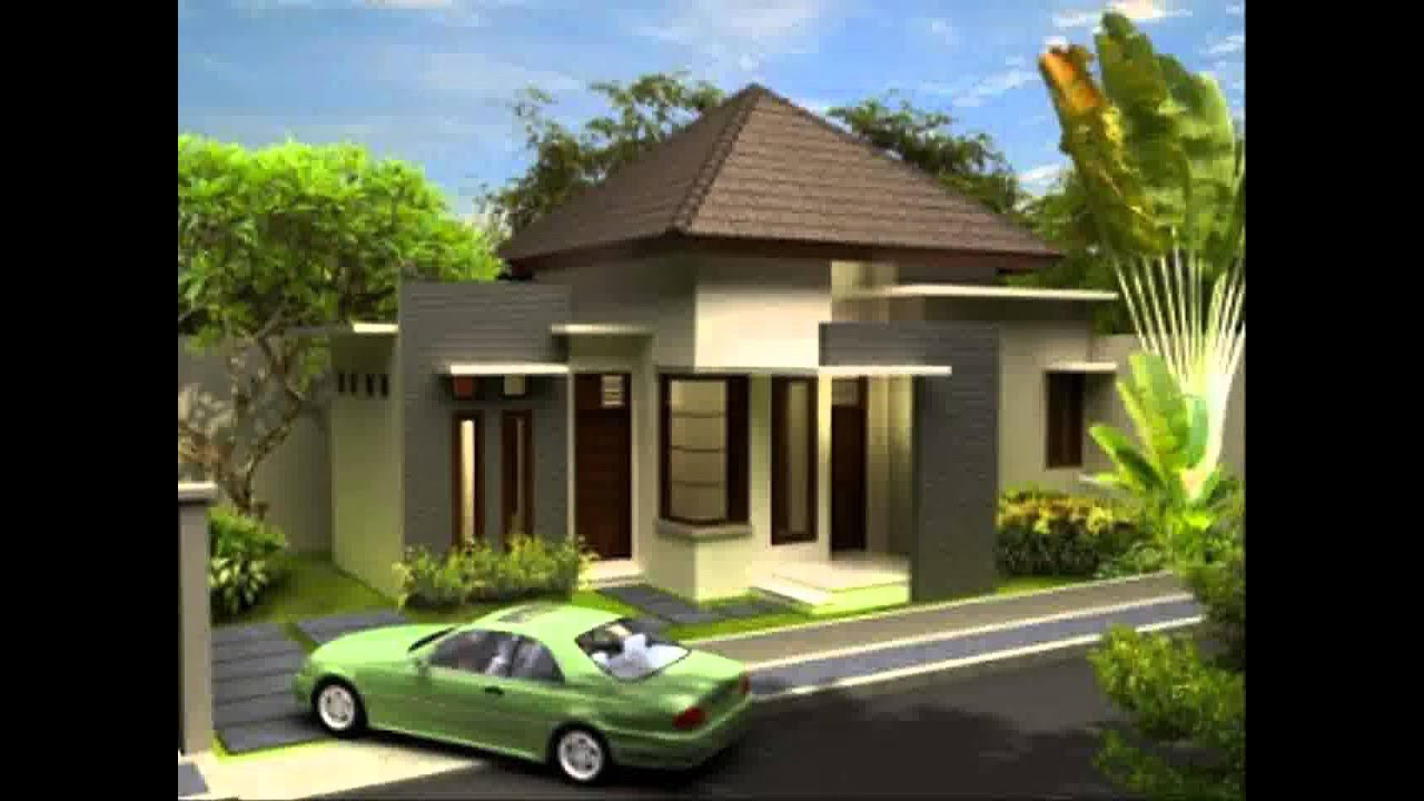 Desain Rumah Minimalis Pintu Samping Yg Sedang Trend Saat Ini - YouTube