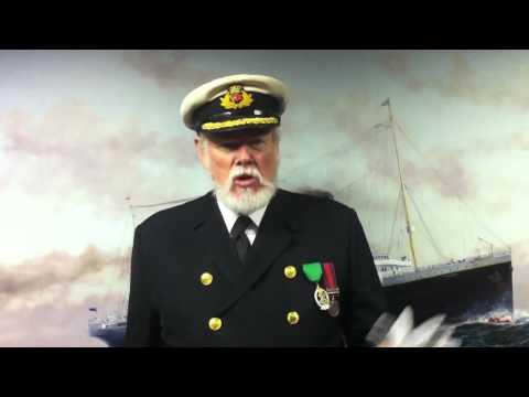 Captain Edward J. Smith of the RMS TITANIC
