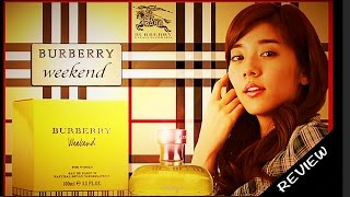 Perfume review Weekend for woman by Burberry