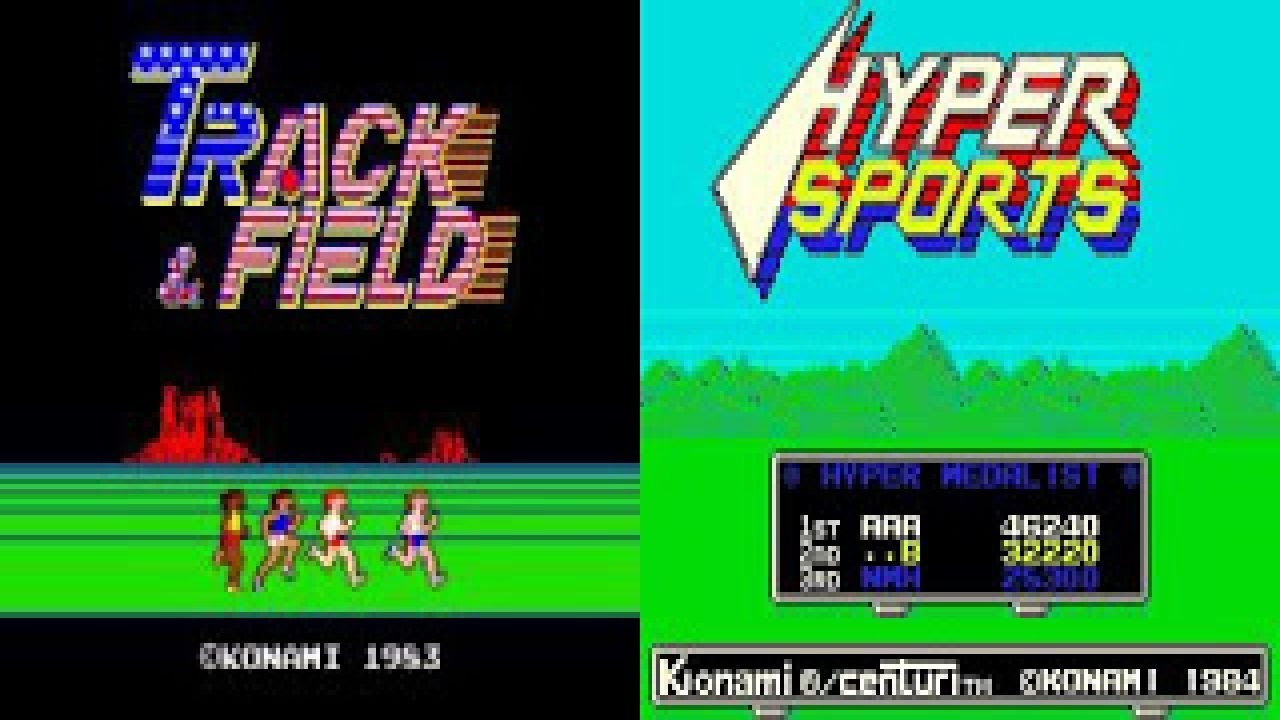 Hyper Sports & Track & Field Special /w  TelespielTVChannel {GERMAN}