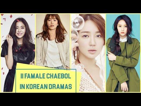 11 Famale Chaebol in Korean Dramas