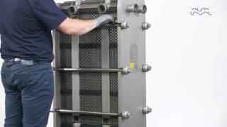 360° Service & Maintenance Video: Alfa Laval FrontLine & BaseLine GPHE – Open And Close