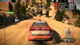 DiRT 1  Awesome Graphics Gameplay  on HD 6970 | 1080p【HD】