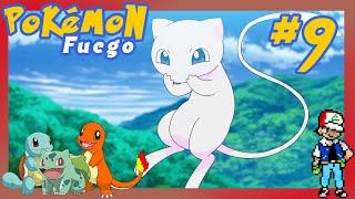 Pokémon Rojo Fuego - Tenemos un MEW! (Cable Link & No&gba) 👀 - Cap. 09 - Gameplay Español