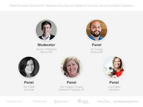 Webinar: Glassdoor, BambooHR, DocuSign and Habitat for Humanity SF on Candidate Experience