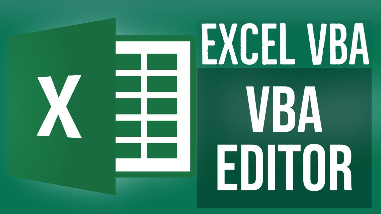 Excel VBA Tutorial for Beginners 2- How To Use The VBA Editor In Excel (1/2)