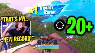 I used RENEGADE RAIDER and got my HIGHEST kill game ever in Fortnite solos...