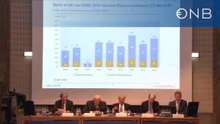 OeNB Pressekonferenz Zum Geschäftsbericht 2014