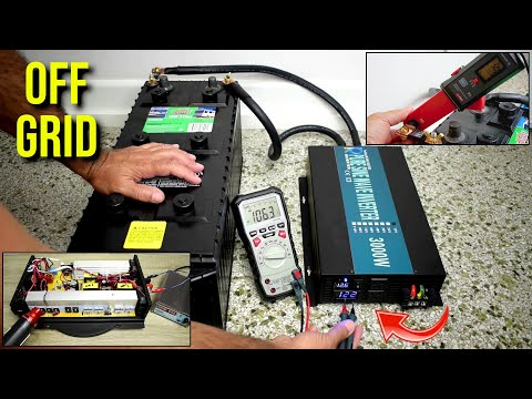 Reliable Brand(WZRELB) 3000W/6000W Surge OFF-GRID Power Inverter Tests!
