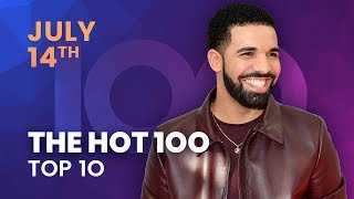 Early Release! Billboard Hot 100 Top 10 July 14th 2018 Countdown | Official