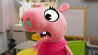 Без Шапки – Шоу Пиги и как бы живых Зверей