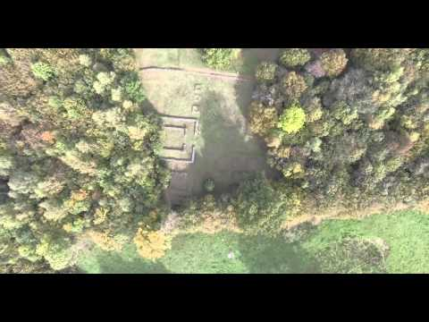 FCP [Drone 4K] - Sanctuaire Gallo Romain de Margerides