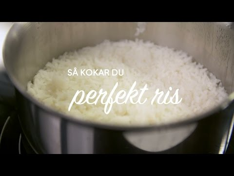Se & gör: Koka perfekt ris