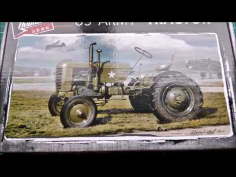 Building Thunder Model Kit #35001, U.S.  Army Tractor Case VAI