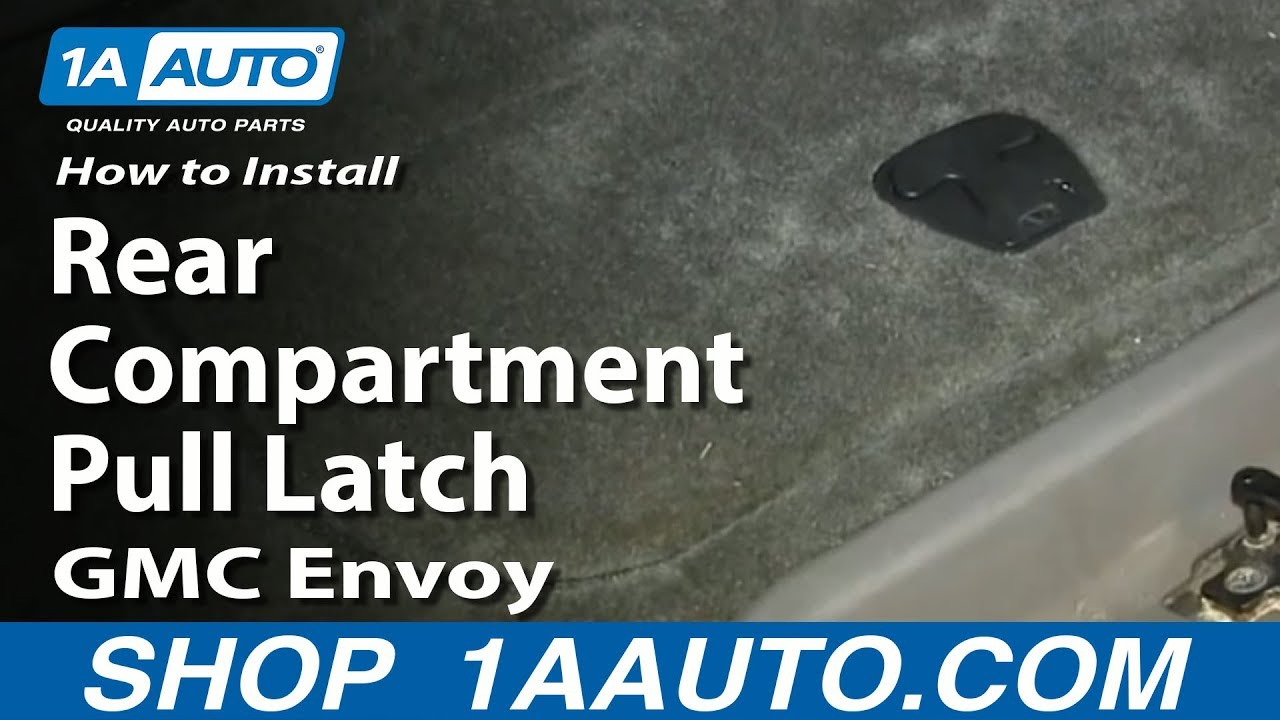 How To Install Replace Rear Floor Compartment Latch 2002