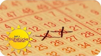 So erhöht ihr eure Chancen auf einen Lotto-Gewinn  | SAT.1 Frühstücksfernsehen | TV