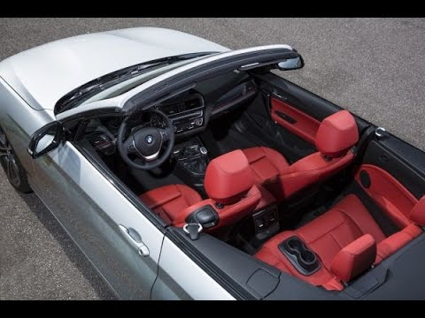 Bmw 2 Series Convertible Interior Design Youtube