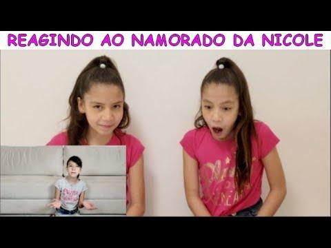 REAGINDO AO VÍDEO O NAMORADO DA NICOLE