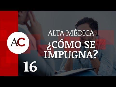 Vídeo sobre la impugnación del alta médica.
