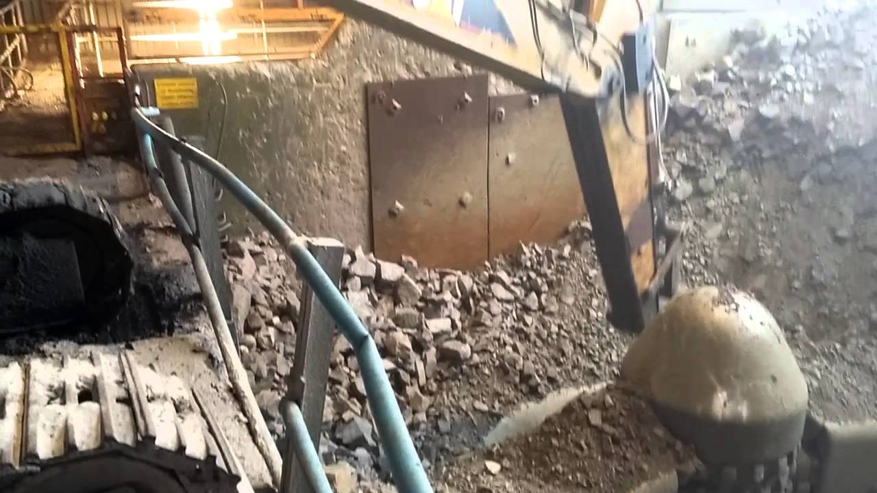 glensanda primary crusher - youtube