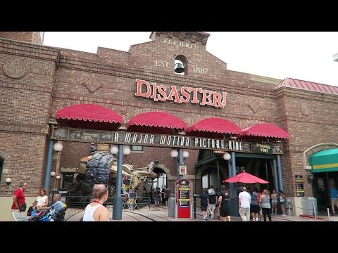 A Fun Trip To Universal Studios Orlando To Experience Disaster One Last Time!!! (8.31.15)
