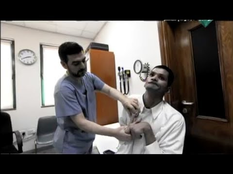 Post-Anoxic Dystonia: DBS in UAE - Dr Maher Mansour / علاج الديستونا في الامارات - د. ماهر منصور