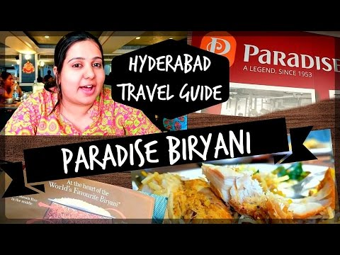 Hyderabad Travel Guide - Paradise Biryani at Paradise Circle