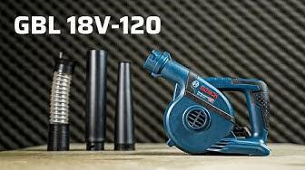 Máy Thổi Bụi Cầm Tay Bosch GBL 18V-120   Pin 18V Tiện Vô Cùng, Đem Đâu Cũng Được