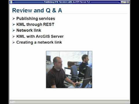 Publishing KML Services with ArcGIS Server 9 3