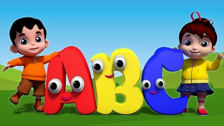 Alphabets Song by Kids TV - The nursery rhymes channel for kinderga...