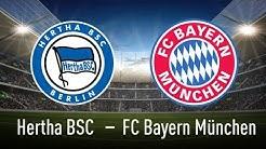 🔴LIVE | HERTHA BSC 0 : 4 FC BAYERN MÜNCHEN | 18. SPIELTAG | HIGHLIGHTS UND TORE | LIVETALK