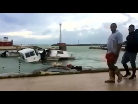 Tonga torn apart by Cyclone Gita