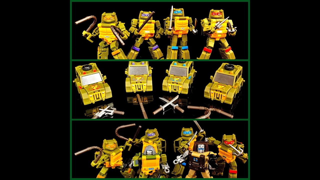 NewAge Legends Pizza Fighters TF/TMNT Crossover Review!