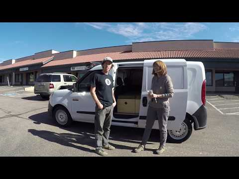 Promaster City Camper Van - Interview with Julie and her new Wayfarer Van